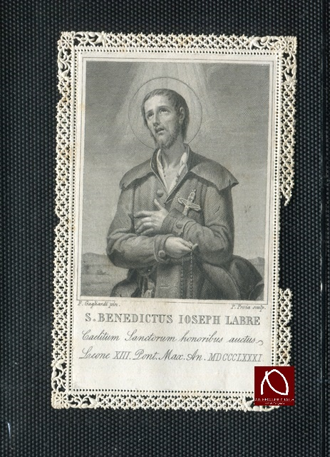 SAN BENEDETTO GIUSEPPE LABRE A CERIGNOLA NEL 1772