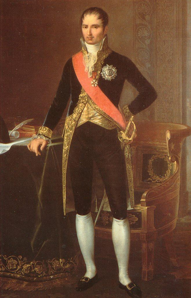 IL 7 E 8 MAGGIO 1806 IL RE DI NAPOLI GIUSEPPE BONAPARTE SOGGIORNO'A CERIGNOLA NEL PALAZZO CHIOMENTI